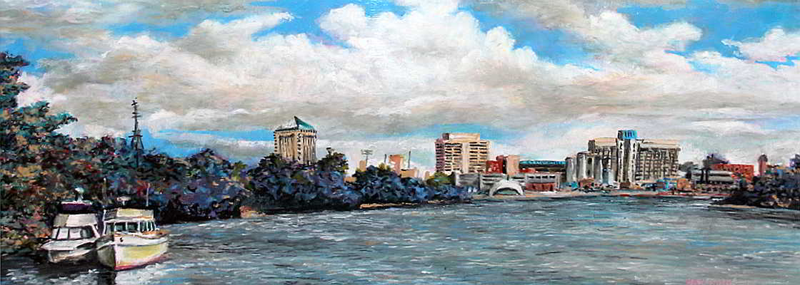 Waterfront Show in Montgomery, Alabama - sponsored by SAC's Gallery