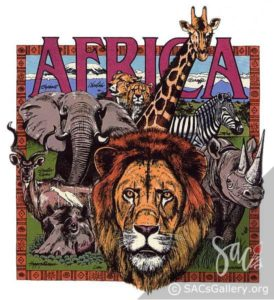 """African Wildlife"" by Rich Richardson"
