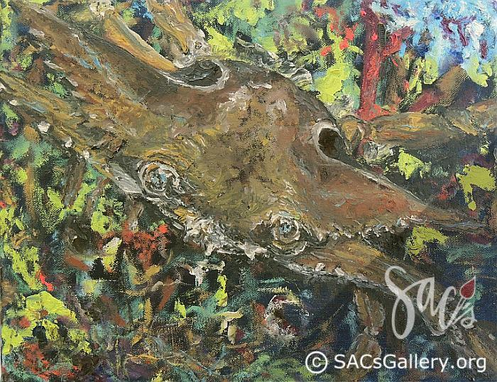 """""""Channel Crab"""" by Ladonna Idell"""
