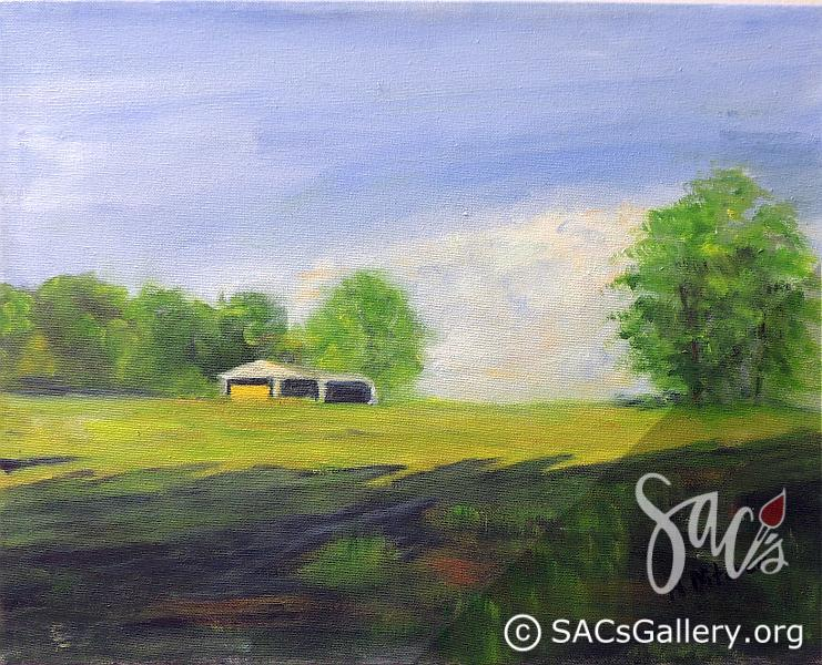 """Boat Ramp Road"" - by Nancy Mitchell"