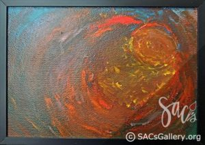 """Fiery Orb"" by Ladonna Idell"