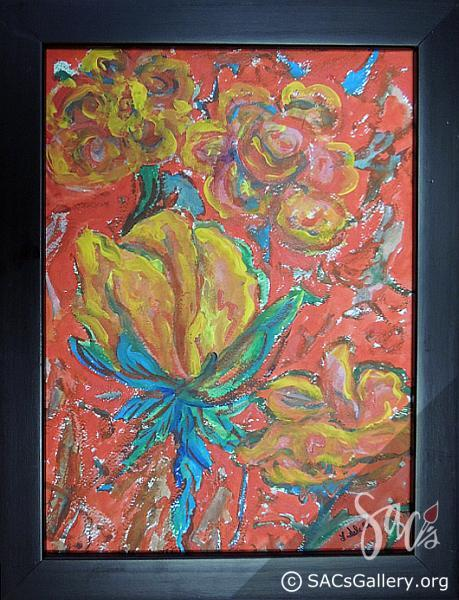 """""""Rose to Chagall"""" by Ladonna Idell"""