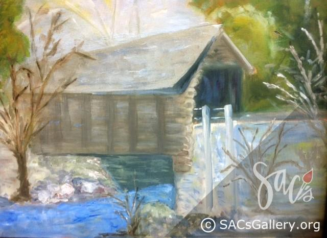 """Covered Bridge"" by Nancy Mitchell"