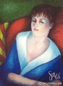 """Lady Relaxed"" by Norma Jean Robbins"