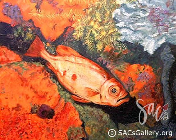 """Squirrel Fish on Reef"" - Ladonna Idell"