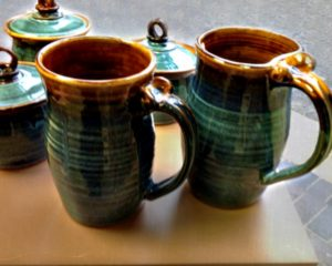 """""""Tall Mugs"""" by William Campbell"""