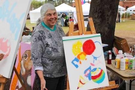 Peggy Sue Raines, Artist, Montgomery AL