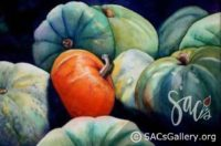 """Pumpkin Patch Produce by Peggy Milburn Brown"