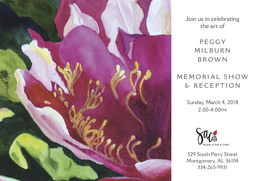 SACs Gallery Event, Memorial Show and Reception