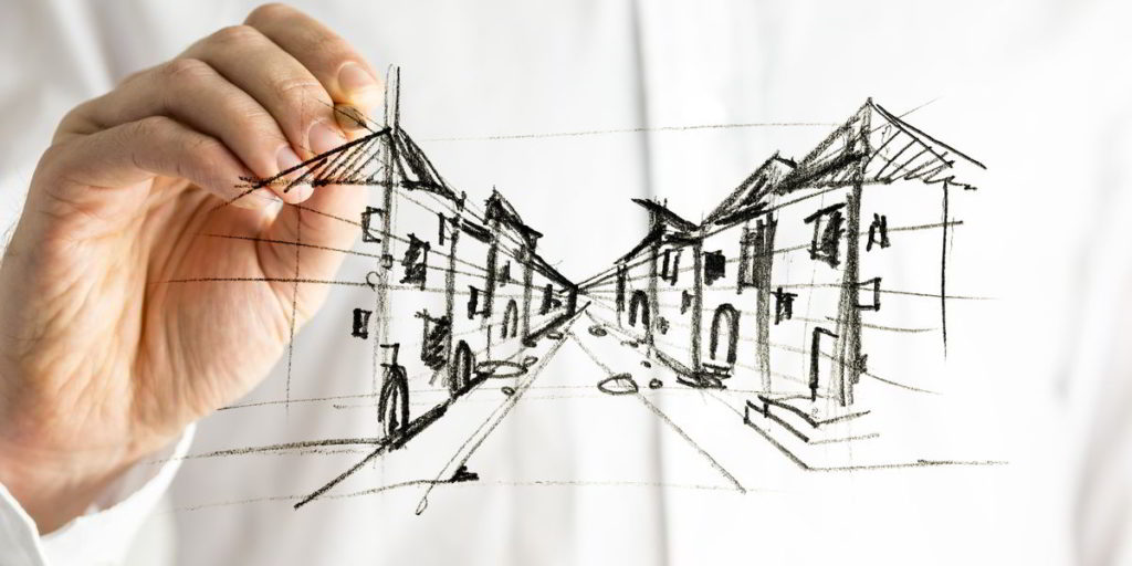 Perspective Drawing Art Class