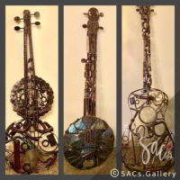 """Guitar Collection"" by Ray Bellew"