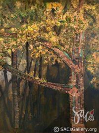 Behind the Barn - Liphus M Swindall - Artist