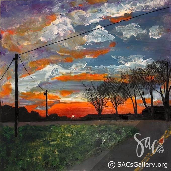 End of the Line, Banks, Alabama - Liphus M Swindall - Artist