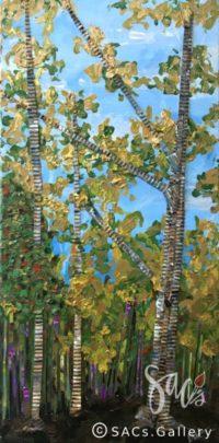 Golden Wood - Liphus M Swindall - Artwork