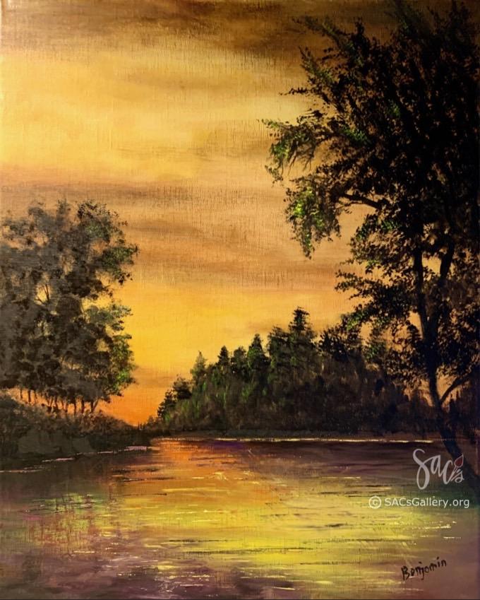 Evening Solitude by Ben Sansom